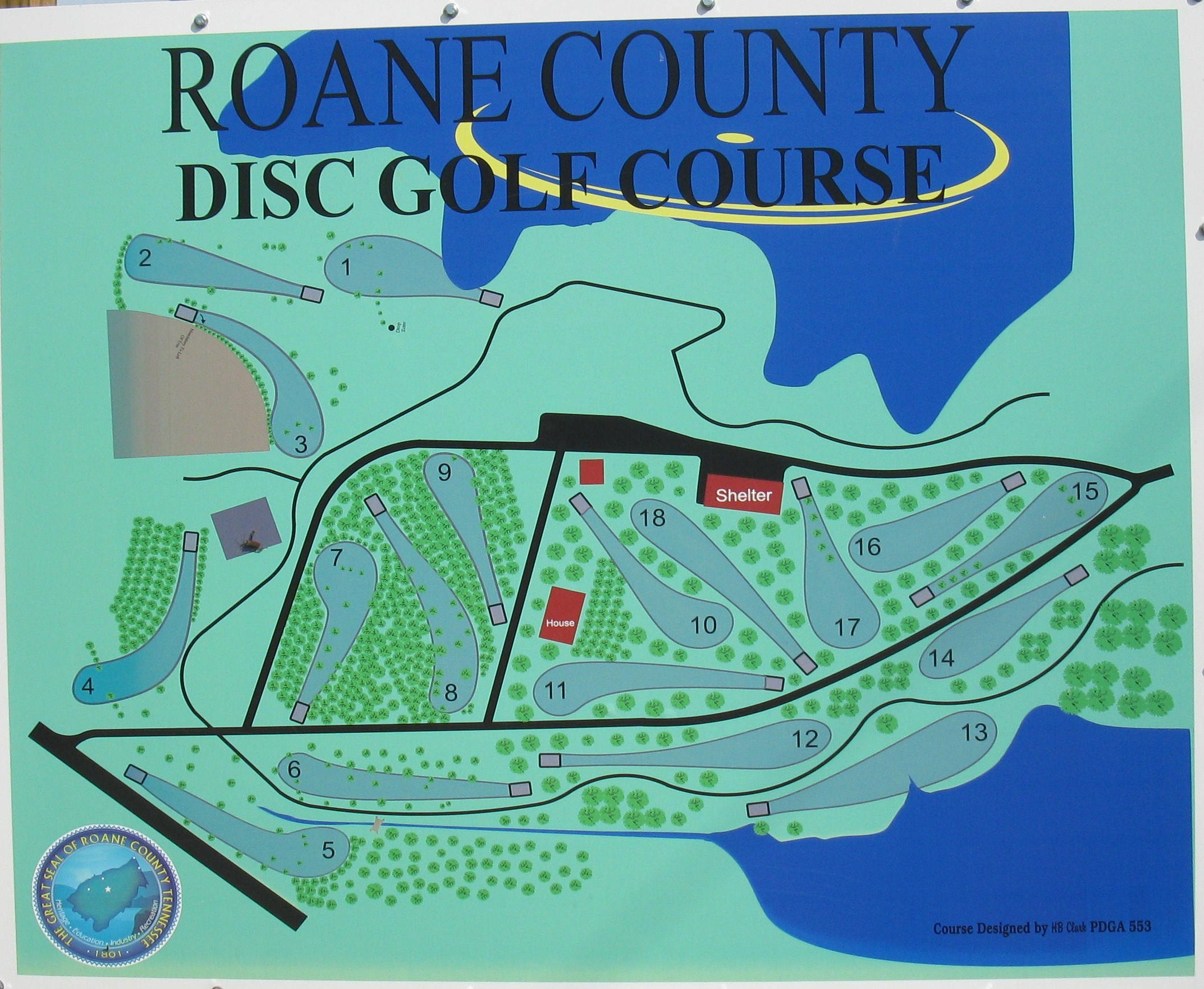 Roane County Parks - Disc Golf Course